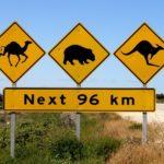 Aussie Road sign