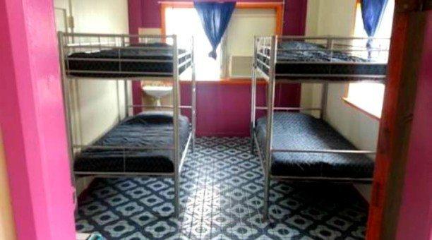 4 Share dormitory at Corona Backpackers
