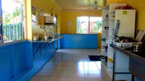 JJ's Backpackers fully equipped Kitchen
