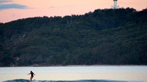 Byron Bay -Sunset Surf