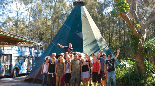 The Arts Factory - Byron Bay - Teepee Tent