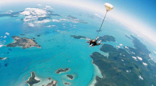 Breathtaking views of the Whitsundays!