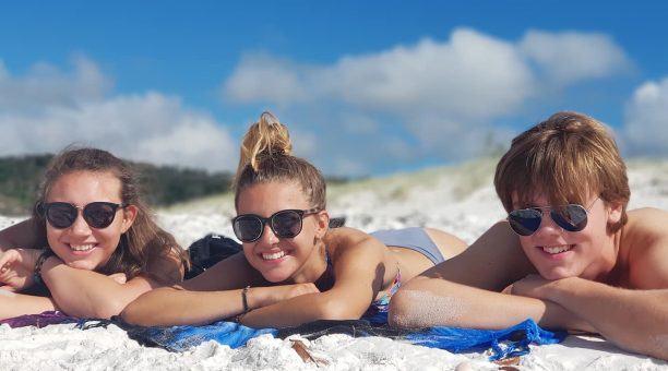 Relax on Whitehaven Beach